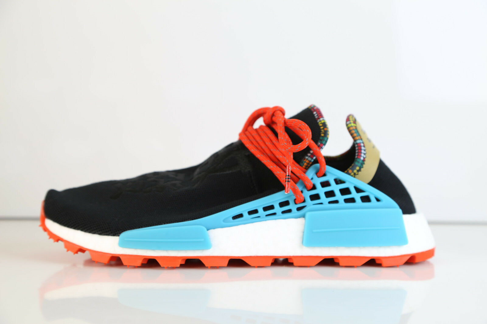 Adidas Pharrell Williams Human Race Hu NMD Solar Inspiration Black EE7582 8-12