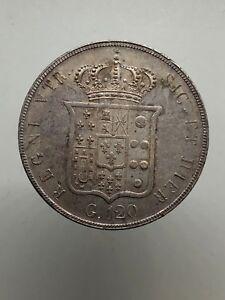 Ferdinand-II-de-Borbone-Plaque-120-Grain-1856-Avis-D-Expert-Spl-Spl