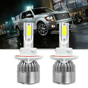 Image Is Loading H13 Led Headlight Bulbs For Ford F 250