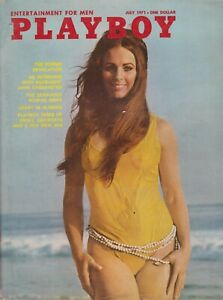 Details About Playboy July 1971 A Heather Van Every Linda Evans Nude