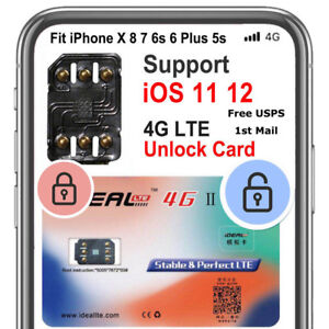 Details about UNLOCK CHIP TURBO SIM Card for IPHONE SPRINT ATT TMOBILE 5S  SE 6 6S 7 8 PLUS X
