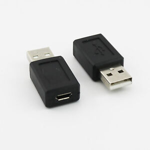1pcs Black Micro USB B Male To USB 2.0 A Female OTG Host Converter Cable Adapter