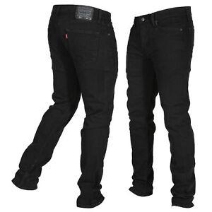 Levi-039-s-Men-039-s-511-Slim-Fit-Jeans-4406-Black-Stretch