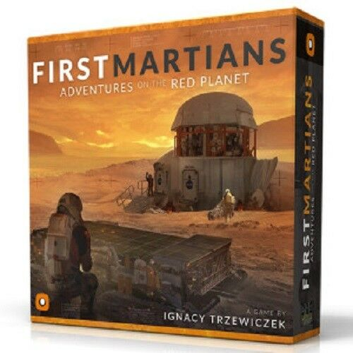 First Martians  Adventures on the Red Planet board game Portal New