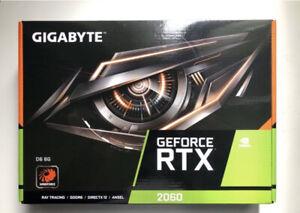GIGABYTE GeForce RTX 2060 6 Go GDDR6 Carte Graphique...