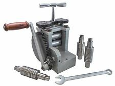 Rolling Mill Economy 80MM Flat W/ 5 Rolls for 1/2 Rd FLAT AND SQUARE WIRE