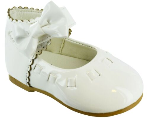 SPANISH PARTY KIDS TODDLER CHIDLREN PATENT BOW MARY JANE INFANT SHOE SZ