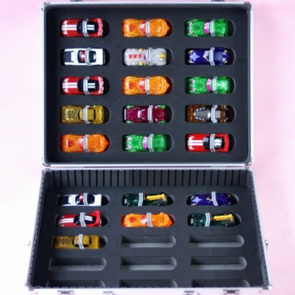 Kamen Masked Rider Drive Shift Cars 30 storage case aluminum from japan F/S
