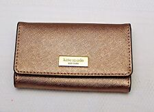 NWT Kate Spade Rucy Newbury Lane Four Ring Key Case Fob Wallet - Rosegold