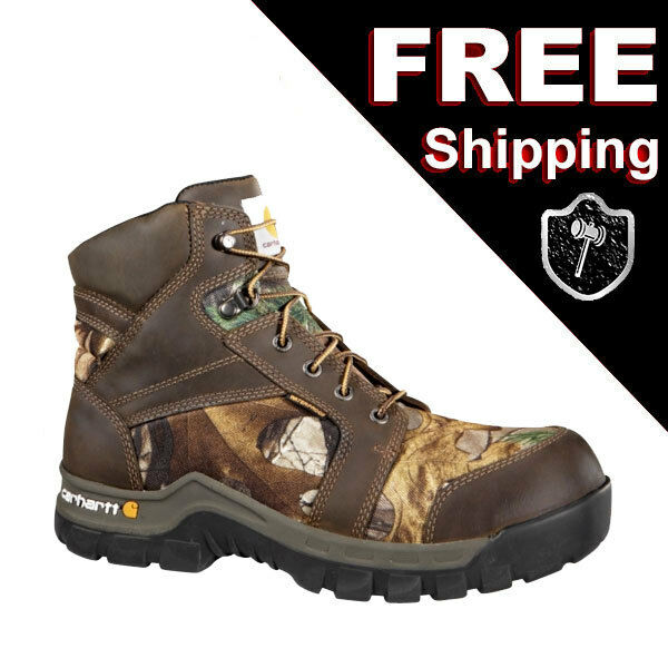 Carhartt WorkBoot Hunting Camouflage Boot Boot 8M 8 Medium CMF6375 Composite Toe