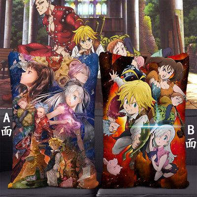 Anime The Seven Deadly Sins Dakimakura Cushion Pillow Case Bedding 35X55cm #4f3