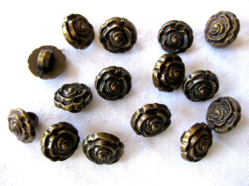 15 Knöpfe K79 verschiedene Muster,Muster wählbar 13 mm