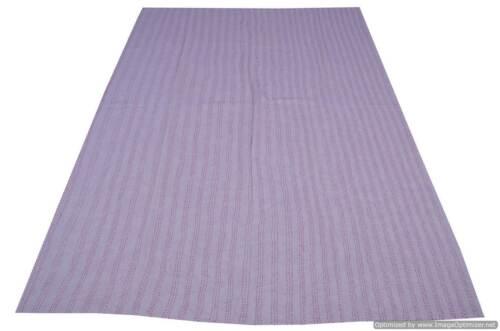 Indian Handmade Kantha Quilt Throw Reversible Bedspread Duvet Single Throw New