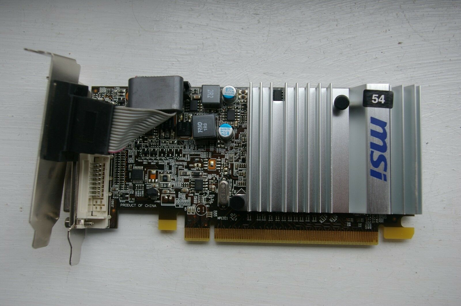 MSI ATI AMD RADEON HD5450 CEDAR 1GB RAM PCI-EX16 HDMI/DVI/VGA