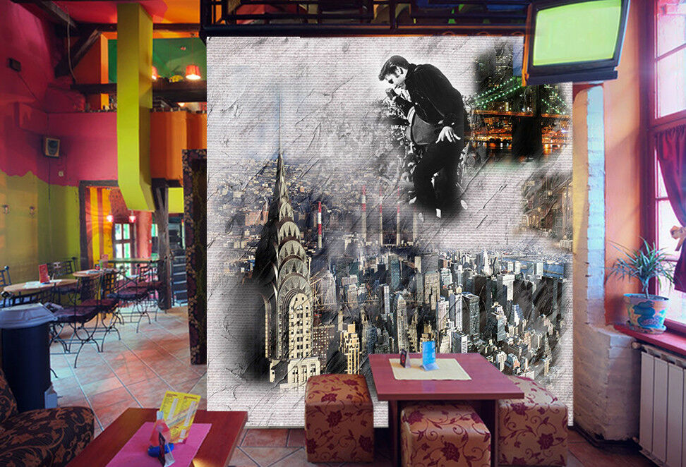 3D Retro Art City 753 Wall Paper Murals Wall Print Wall Wallpaper Mural AU Kyra