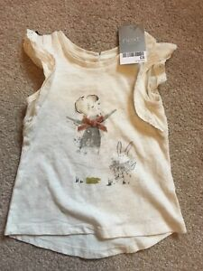 f33a303f6 Bnwt Pretty Baby Girls Next Fairy Tshirt 6-9 Cute sun summer top
