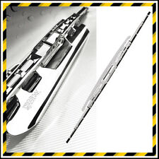 """STAINLESS STEEL CHROME WIPER BLADE WITH SPOILER - 14"""" - WINDSCREEN WIPERS"""