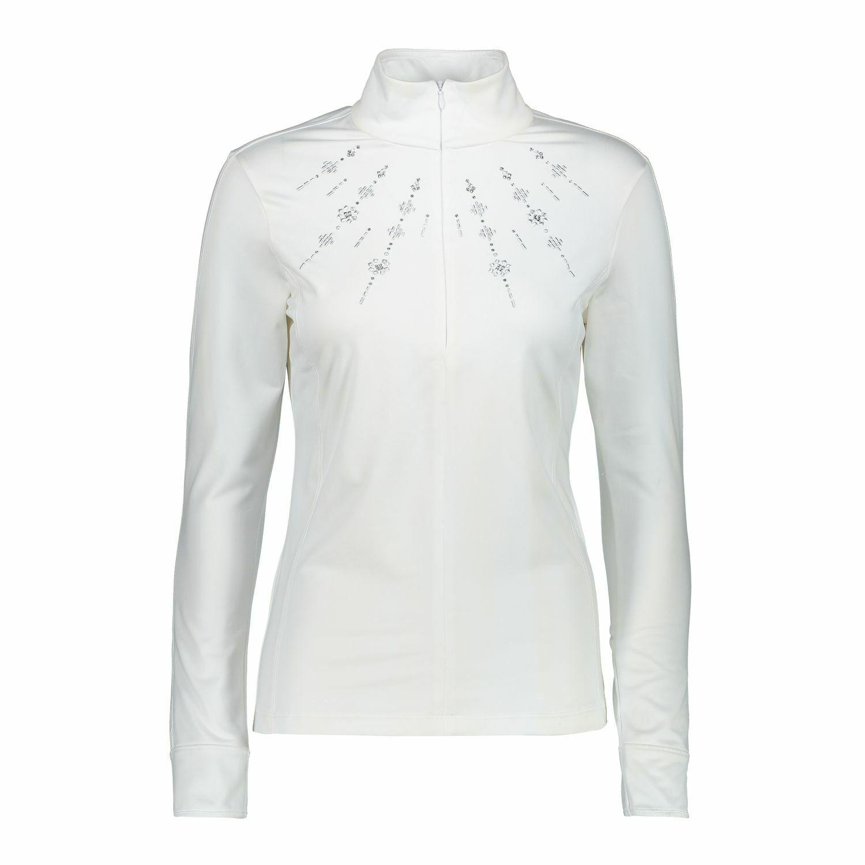 CMP Maglione divertiuominitozione Shirt Donna Sudore Bianco Traspirante Riscaldonnato