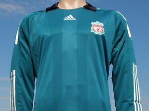 Rare BNWT Liverpool FC 3rd Shirt 2008-2009 Player Issue European Long Sleeve XL