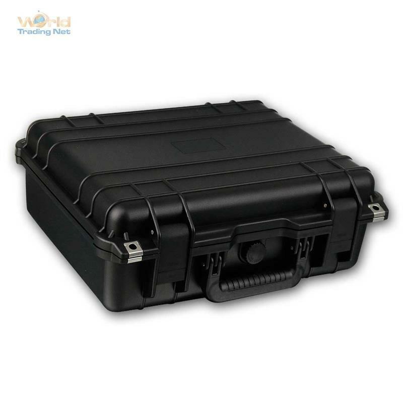 Gerätekoffer Staub- Wasserdicht, 430x380x154mm Gerätebox Aufbewahrungsbox Koffer