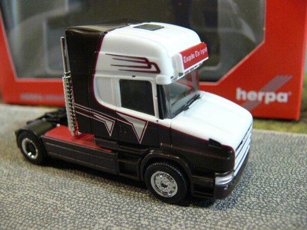 1 87 Herpa Scania Hauber 2-AXE tracteur grohganz 306522