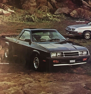 1984 Dodge Rampage Classic