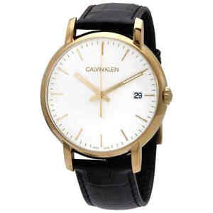 Calvin Klein Established Quartz Silver Dial Men's Watch K9H215C6