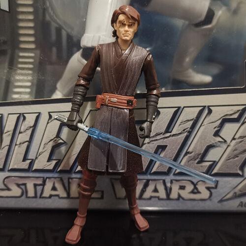 "STAR WARS the clone wars ANAKIN SKYWALKER jedi 3.75/"" CW01"