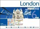 London PopOut Map: 3 PopOut maps in one handy, pocket-size format by Compass Maps (Sheet map, folded, 2016)