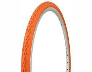 Orange Duro Cordoba 700x35c Road City Fixie Hybrid Fitness Bike Bicycle Tires