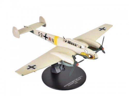 Atlas 1 72 2nd Guerre Mondiale de Combat Luftwaffe Messerschmitt Bf110 E-2