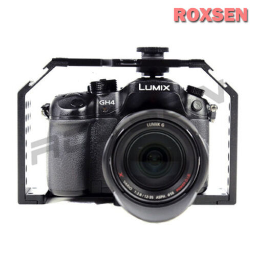 Fhugen Honu v2.0 Video Cage Stabilizer for Panasonic GH3 GH4 Sony A7 A7R camera