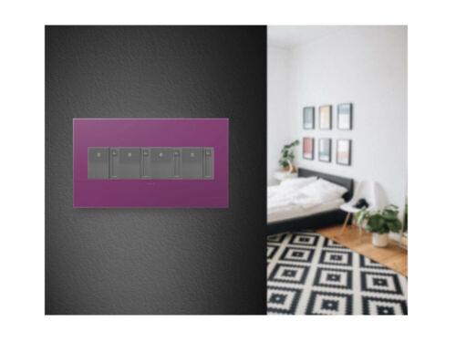 Plum AWP4GPL4 adorne 4-Gang Wall Plate Legrand