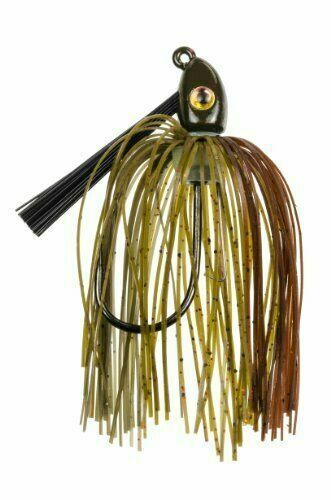 9 Strike King Lures Hack Attack Heavy Cover Swim Jigs in Green Pumpkin for sale online