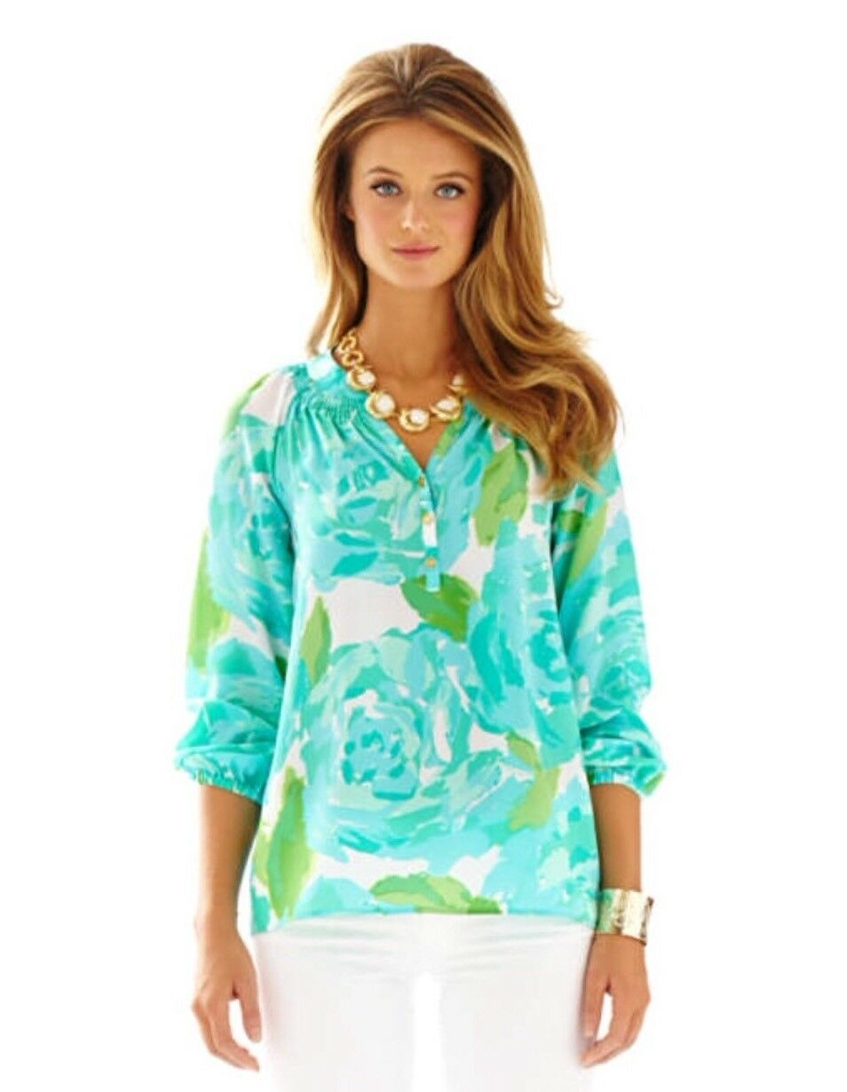 Lilly Pulitzer First Impressions Poolside bluee Elisa Holy Grail