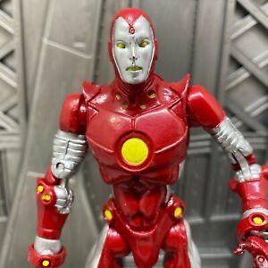 Marvel-Legends-Toybiz-Young-Avengers-from-Box-Set-Iron-Lad-Man-6-034-Action-Figure