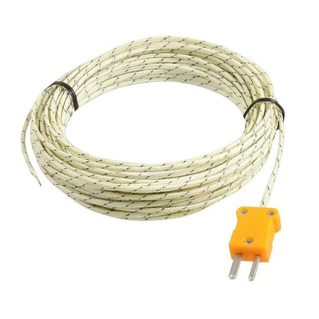-50-250 Celsius K Type 10M Cable Temperature Sensor Thermocouple Probe Z8D8