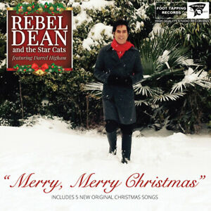 CHRISTMAS-C-D-034-REBEL-DEAN-amp-THE-STAR-CATS-034-WITH-034-DARREL-HIGHAM-034-SIGNED