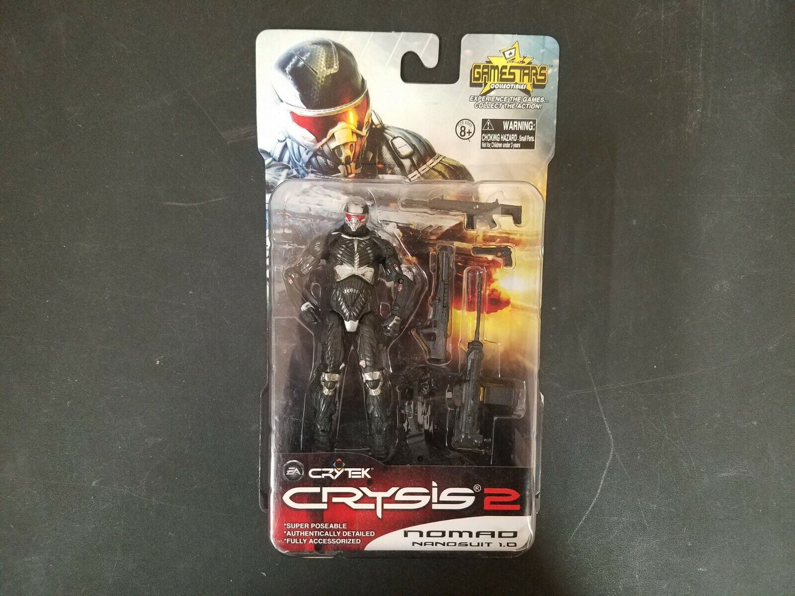 Crysis 2 Nomad nanosuit 1.0 action figure  gamestars Collectibles  EA Crytek 3.75  à la mode