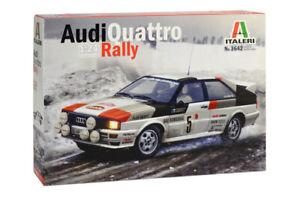 Italeri 3642 Audi Quattro Rally  M1:24 unlackierter Plastik Bausatz
