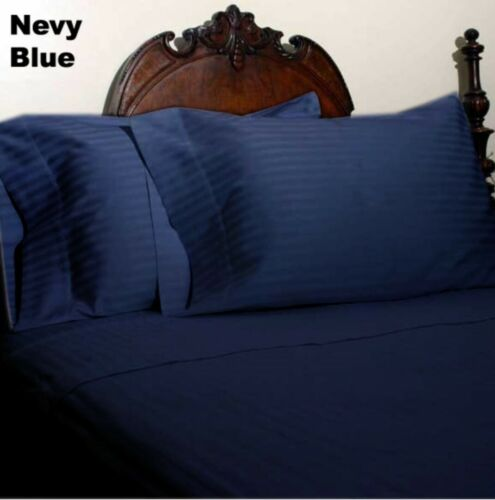 Tremendous Bedding Deep PKT Fitted Sheet Organic Cotton Olympic Queen All Color
