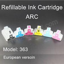 HP363 Refillable ink Cartridges for Photosmart 8250 3110 D6160 D7160 D7260 C5180