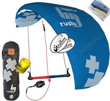 HQ4 HQ Rush V Pro 300 3M 3-Line Trainer Kite Kiteboarding Power Traction Snow