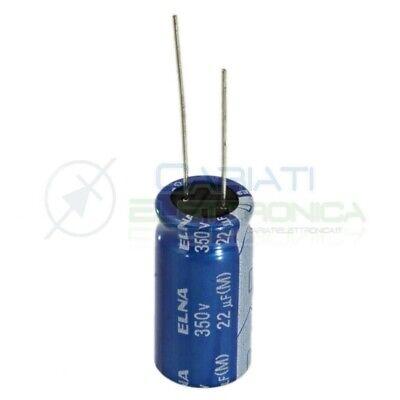QTY: 3 PEZZI CONDENSATORE ELETTROLITICO 22uF 450V 105° 16x26mm