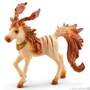 Bayala-Marween-039-s-Striped-Foal-Horse-Mythical-Elves-Toy-Schleich-Model-70530