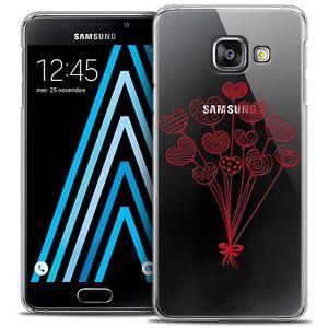 Prix Pas Cher Coque Crystal Pour Samsung Galaxy A3 2016 (a310) Extra Fine Rigide Love Ballons Beau Travail