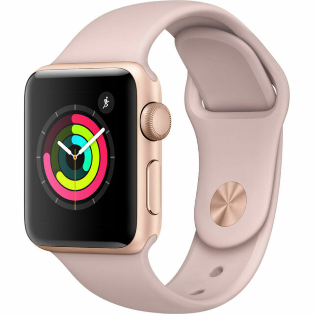 Apple Watch Series 3 Gps Gold Aluminum Case With Pink Sand Sport