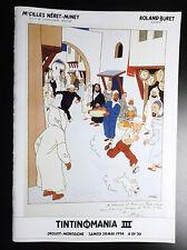Catalogue vente Tintin Tintinomania III 1994 Drouot Neret Minet