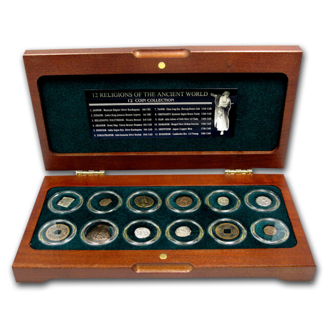 Religions of the Ancient World 12-Coin Set - SKU #55841