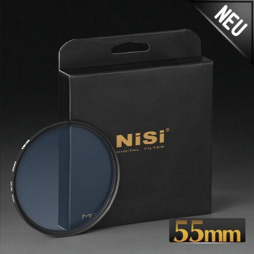 Nisi MRC filtro UV fina filtros de protección para todos objetiva 14-fachvergütet Ø 55mm